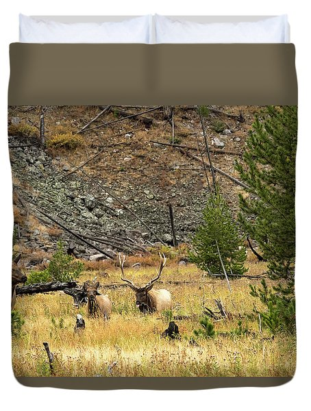 The Right Breeze Duvet Cover
