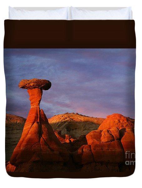 The Rim Rocks Duvet Cover