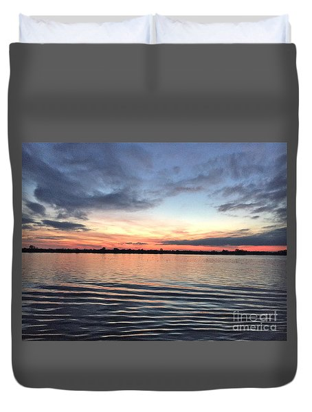 The Ripple Effect Duvet Cover