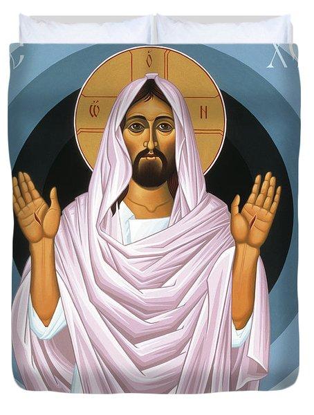 The Risen Christ 014 Duvet Cover