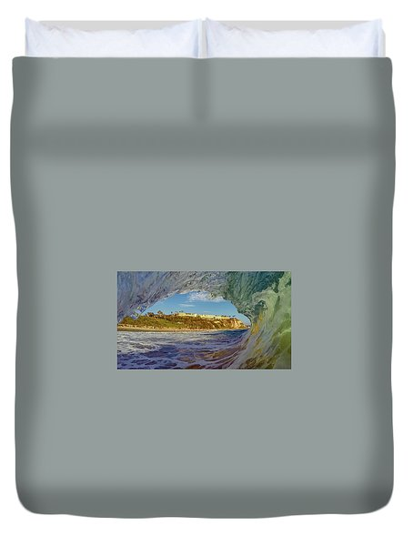 Duvet Cover featuring the photograph The Ritz Fitz by Sean Foster