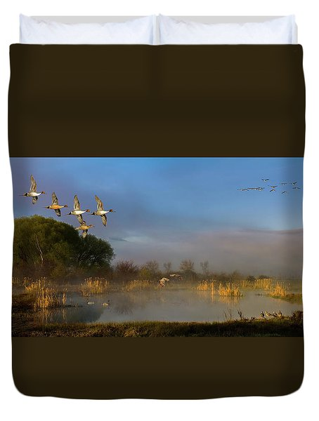 The River Bottoms Duvet Cover