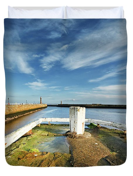 The River Esk Duvet Cover