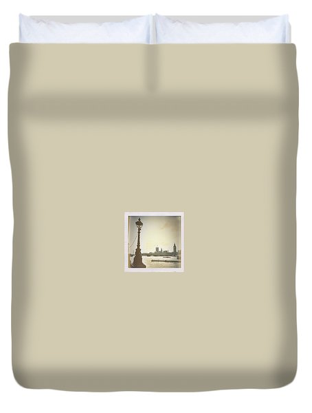 The River Thames  Duvet Cover