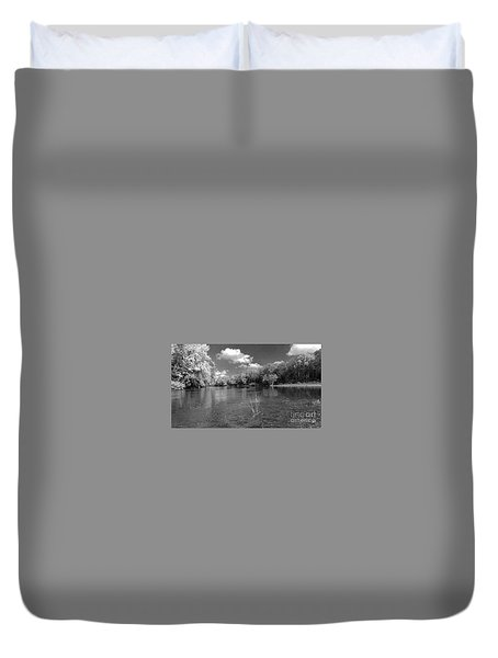 The Rivers Bend  Duvet Cover
