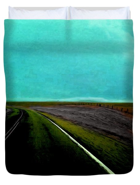 The Road Duvet Cover