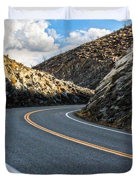 The Road Duvet Cover