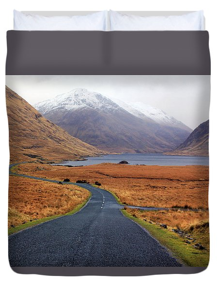 The Road In Duvet Cover