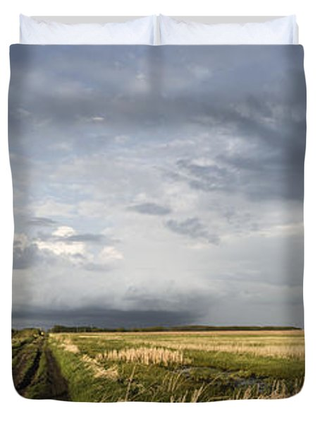 The Road Is Never Easy Duvet Cover