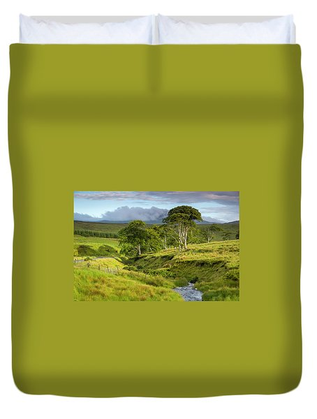 The Road To Carndonagh Duvet Cover