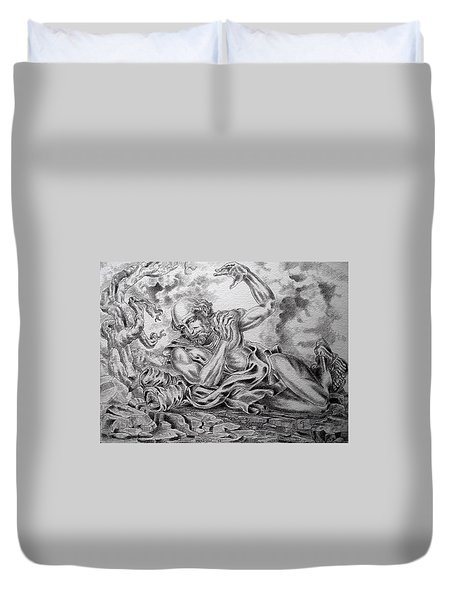 On The Road To Damascus Duvet Cover