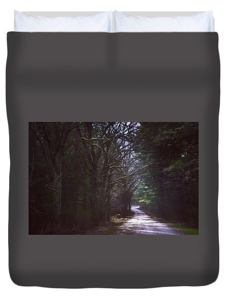 The Road To Somewhere Duvet Cover