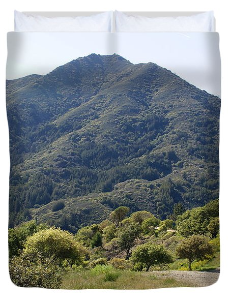 The Road To Tamalpais Duvet Cover