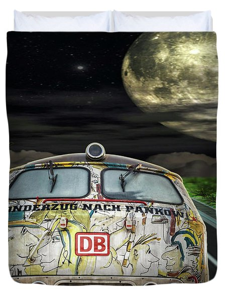 The Road Trip Duvet Cover