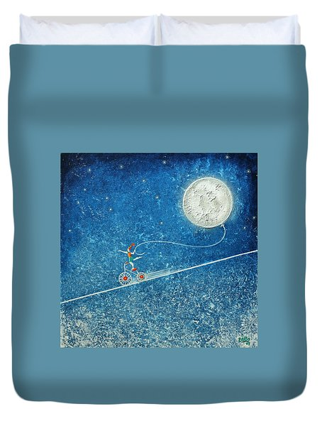 The Robbery Of The Moon Duvet Cover