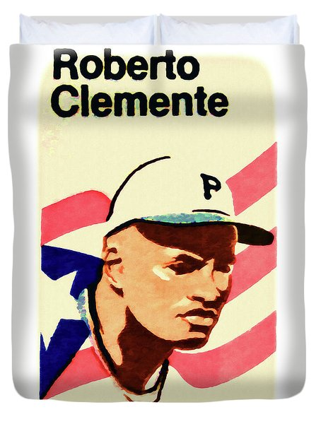 The roberto clemente painting by lanjee chee for Roberto clemente coloring page