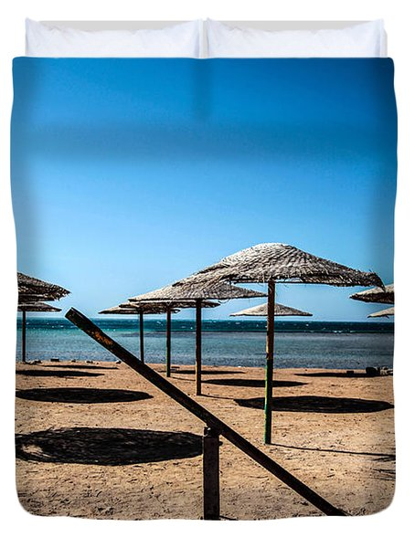 The Rocking Has Stopped Here Duvet Cover by Jez C Self