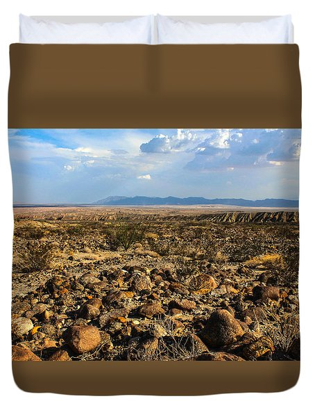 The Rocks Duvet Cover