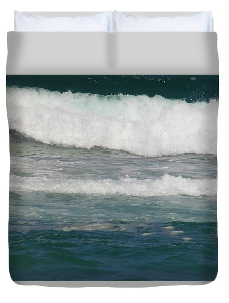 The Rolling Sea Duvet Cover