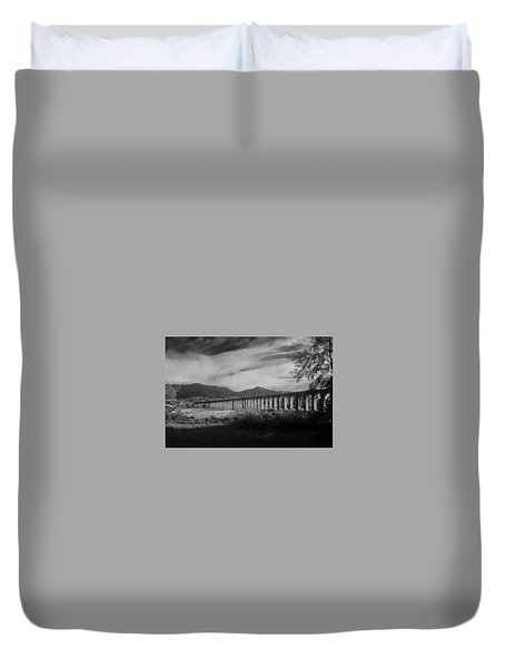 The Roman Aqueducts Duvet Cover