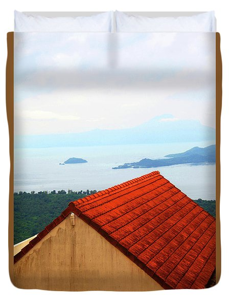 The Roof Be Told Duvet Cover