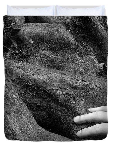 The Roots Duvet Cover by Daniel Csoka