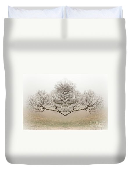 The Rorschach Tree Duvet Cover