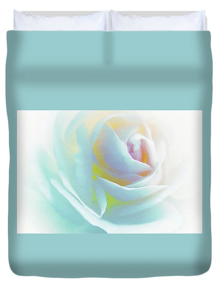 The Rose By Scott Cameron Duvet Cover