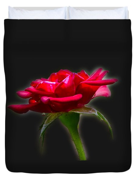 The Rose  Tee-shirt Duvet Cover