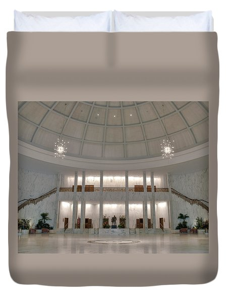 Duvet Cover featuring the photograph The Rotunda 8 X 10 Crop by Mark Dodd