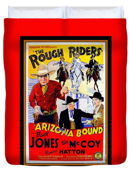 The Rough Riders Duvet Cover