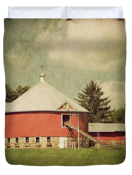 The Round Barn Duvet Cover