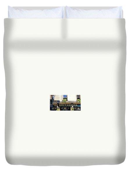 The Roundhouse Pub Bath England Duvet Cover