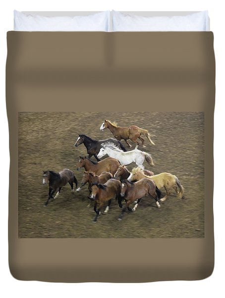 The Roundup Duvet Cover
