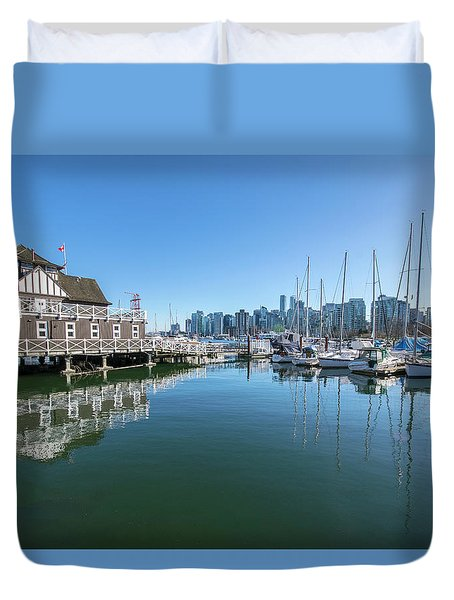 The Rowing Club Duvet Cover