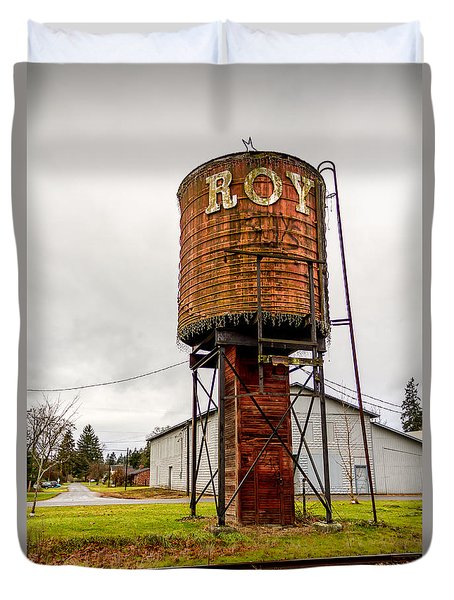 The Roy Water Tower Duvet Cover