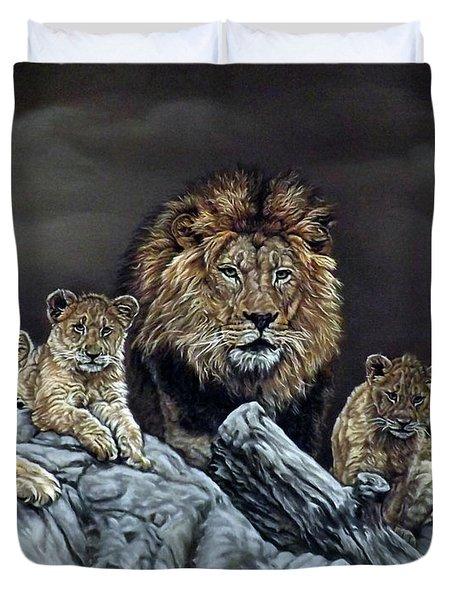 The Royal Family Duvet Cover