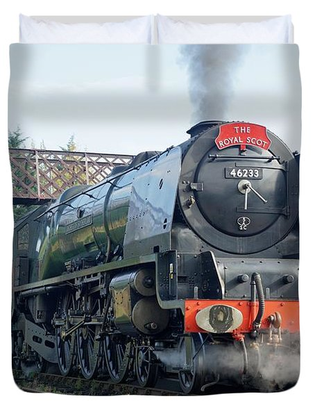 The Royal Scot At Butterley Duvet Cover