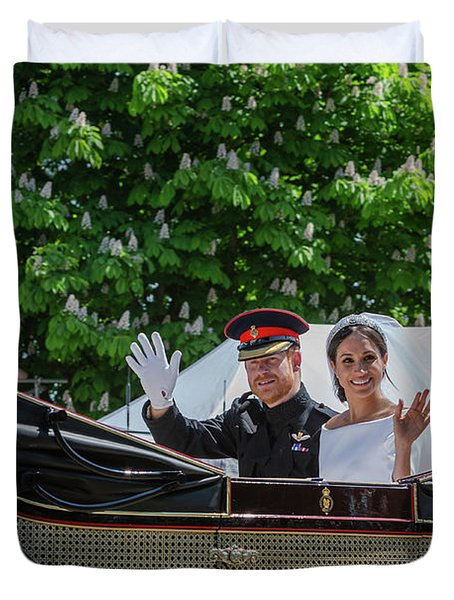 The Royal Wedding Harry Meghan Duvet Cover