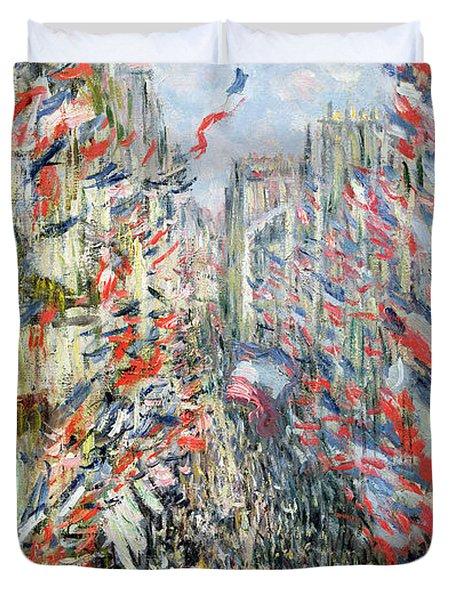 The Rue Montorgueil Duvet Cover