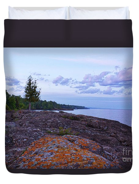 The Rugged North Shore Duvet Cover