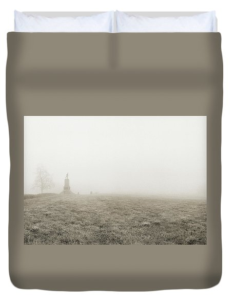 The Running Man Duvet Cover by Jan W Faul