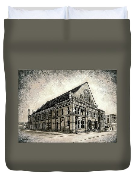 The Ryman Duvet Cover by Janet King