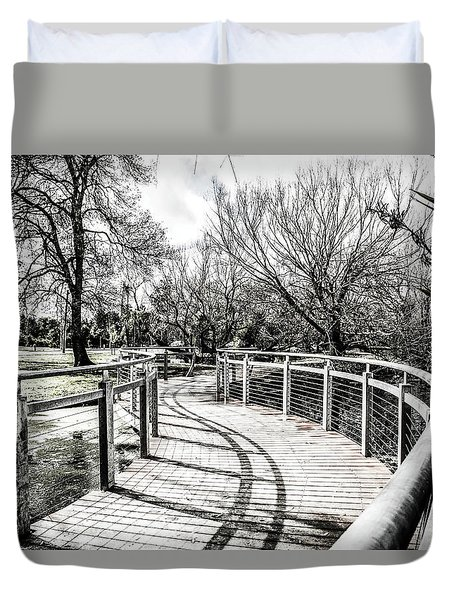 The S Bridge  Duvet Cover