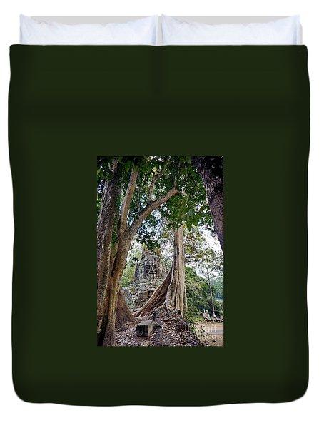 The S Gate Duvet Cover by Arik S Mintorogo