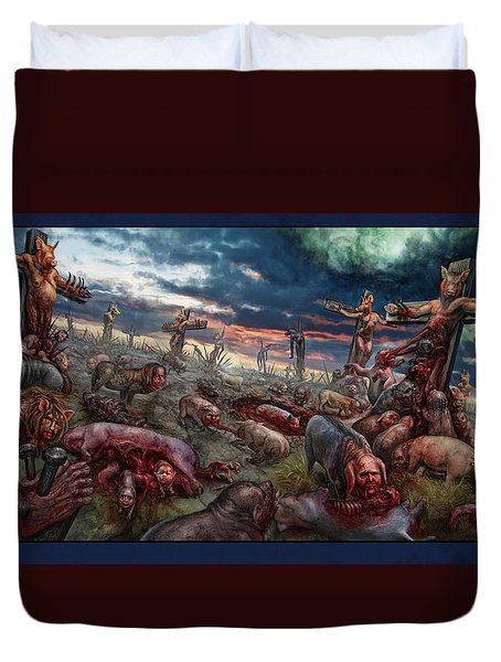The Sacrifice Duvet Cover by Tony Koehl