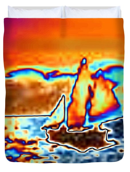 The Sail Duvet Cover by Tim Allen