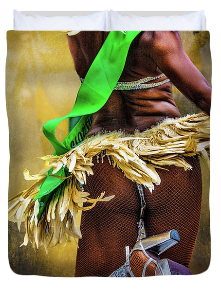 Duvet Cover featuring the photograph The Samba Dancer by Chris Lord