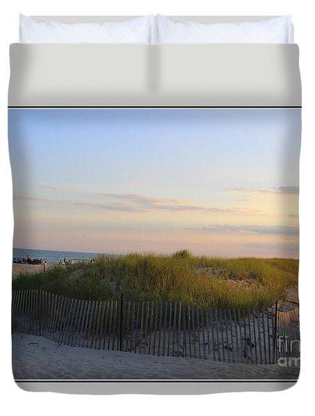The Sand Dunes Of Long Island Duvet Cover