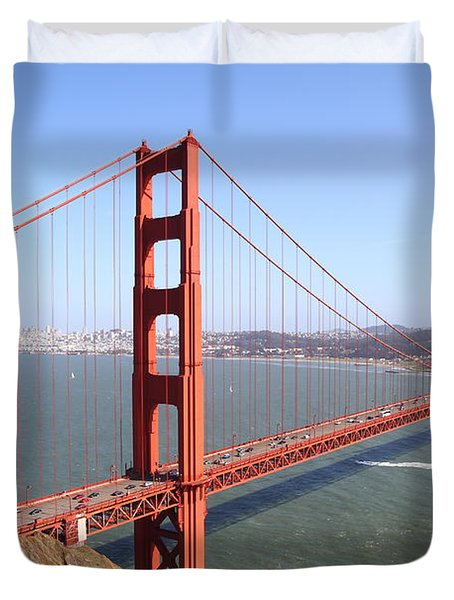The San Francisco Golden Gate Bridge 7d14507 Duvet Cover